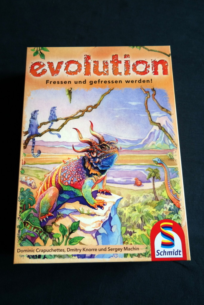 Evolution Brettspiel Kartenspiel Boardgame Cardgame Box