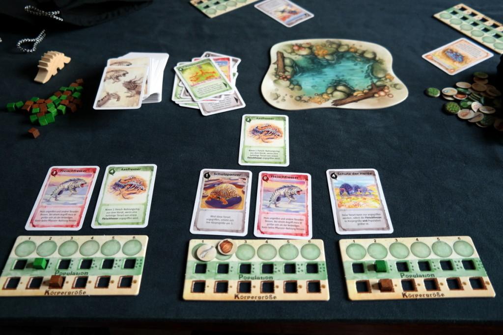 overview Evolution Brettspiel Kartenspiel Boardgame Cardgame