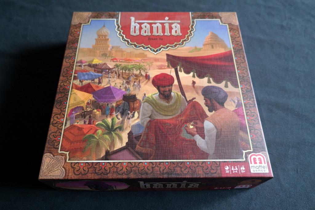 Box Bania Boardgame Brettspiel Mattel