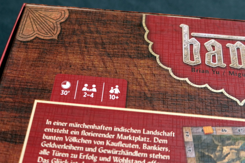 game infos Bania Boardgame Brettspiel Mattel