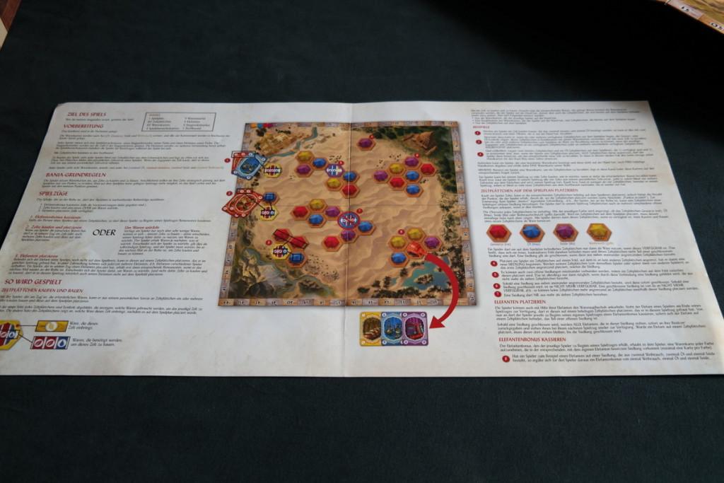 rules Bania Boardgame Brettspiel Mattel