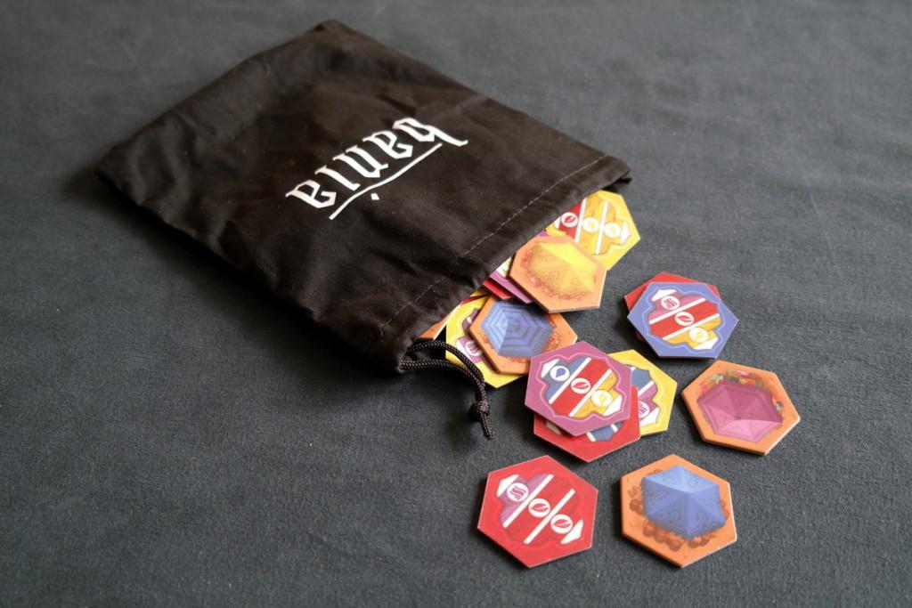 Bania Boardgame Brettspiel Mattel bag