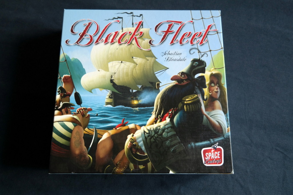 Black Fleet Boardgame Brettspiel Box
