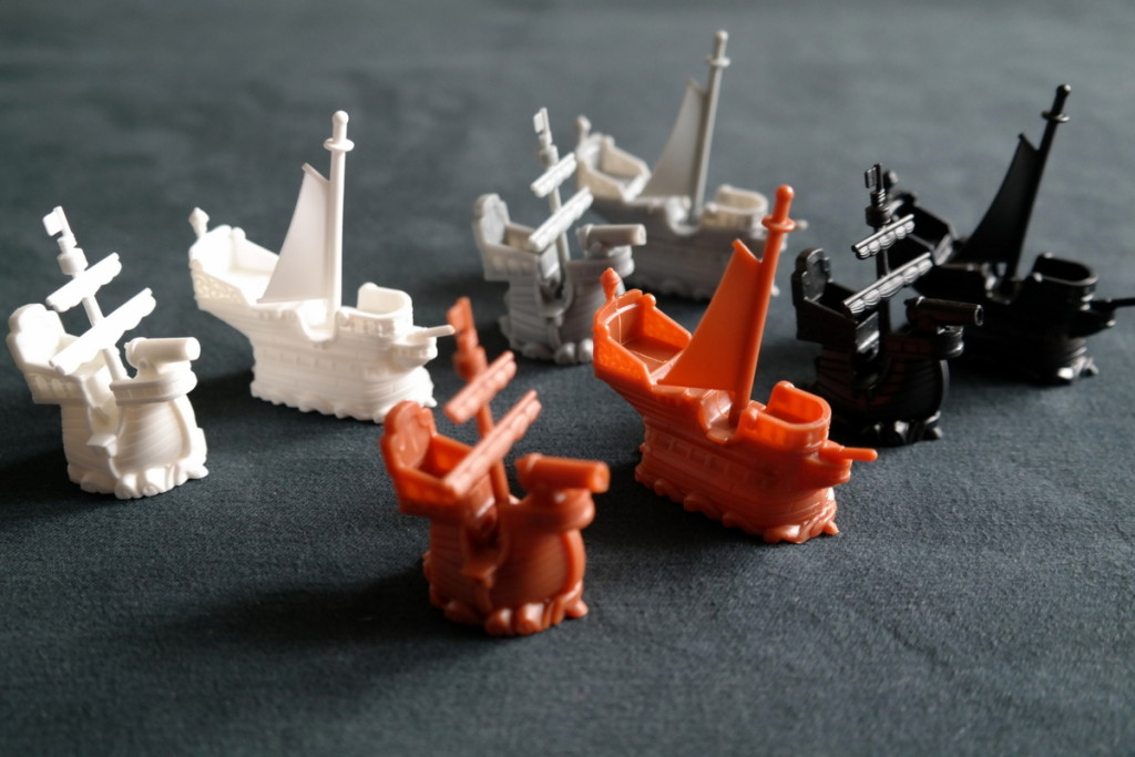 Black Fleet Boardgame Brettspiel ships