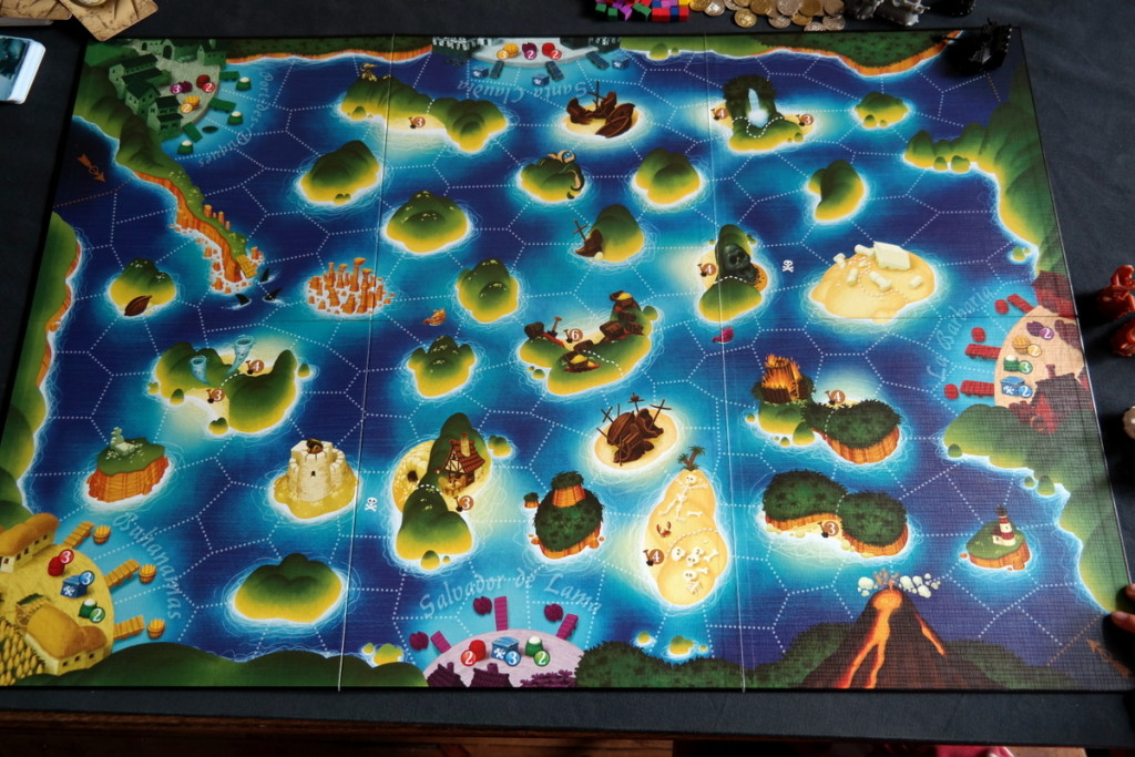 Black Fleet Boardgame Brettspiel board