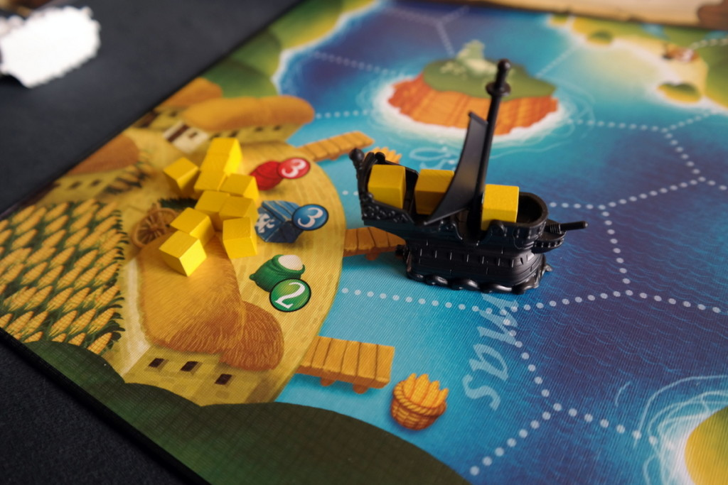 Black Fleet Boardgame Brettspiel