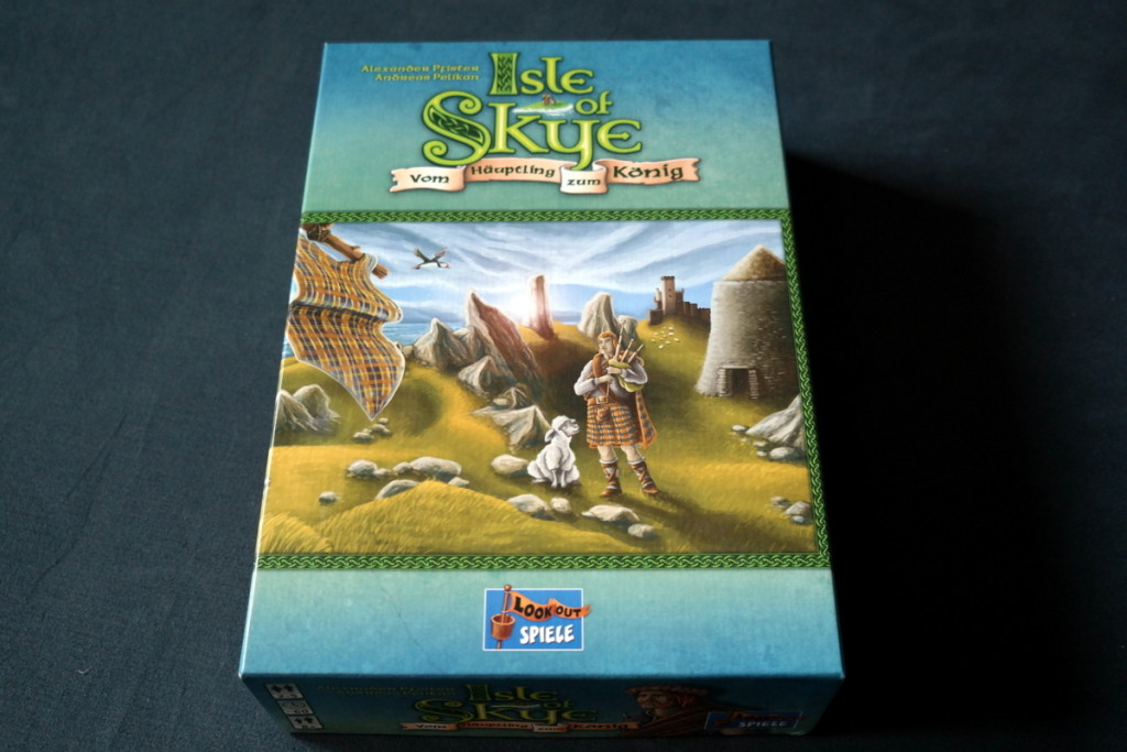 Isle of Skye Brettspiel Boardgame box