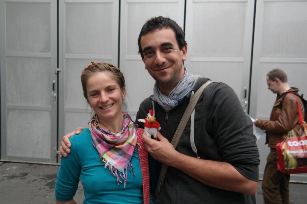 Huhni und die Österreicher