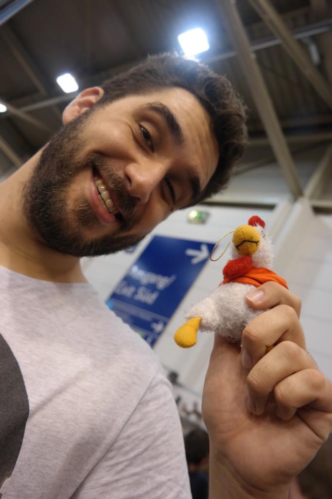 Huhni und Martin