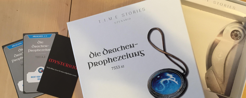 Erweiterung Space Cowboys T.I.M.E Stories Die Drachen-Prophezeihung